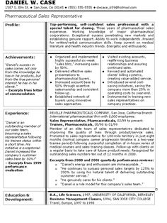 pharmaceutical sales sales resume and resume templates on pinterest