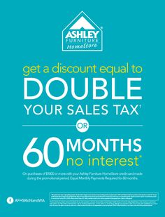 Summer Savings Coupon Event At Ashley Furniture In