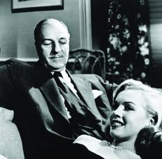 Image result for louis calhern and marilyn monroe in the asphalt jungle
