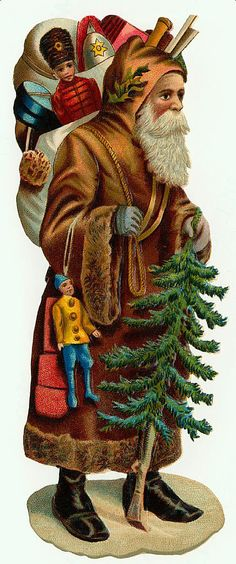 Belsnickle And Old World Santa On Pinterest Father