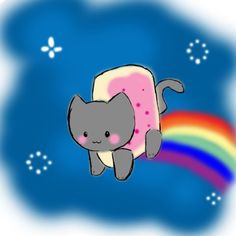 Nyan Cat Eat And Grow Fever Flash Games Pinterest Nyan Cat And Pusheen