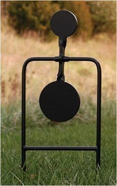 Rogue Shooting Targets Swinging Gong Stand For Ar 500
