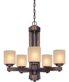 Dolan Designs Sherwood 27 Inch Wide 5 Light Chandelier