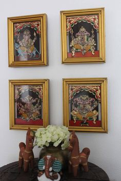 Tanjore Glass Paintings