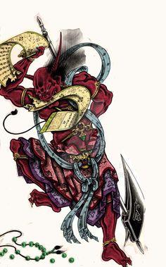 1000 Images About HORIYOSHI Iii 108 Demons On Pinterest