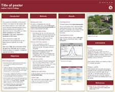 research poster poster templates and templates on pinterest