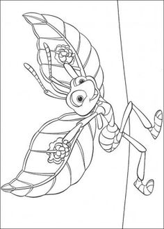bugs life coloring page 19 more colors copic a bugs life crafts colors
