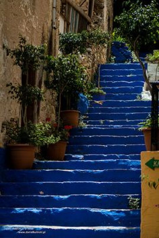 Only blue, Rhodes, Island of Greece