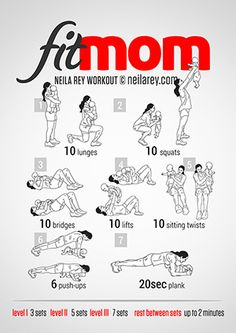 Fit Mom Workout http