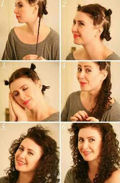 1000 images about how to curl your hair on pinterest curl your hair no heat and curls