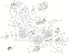 John Deere RX75 Parts Manual | parts schematic and parts list wiring diagram and electrical