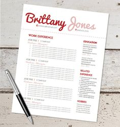 resume templates professional resume and resume on pinterest