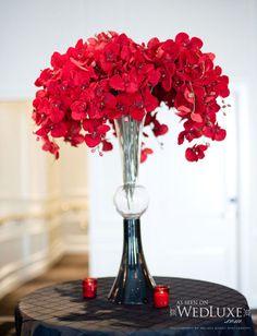 Wedding Flowers Red Flower Arrangements For Weddings