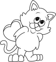caricaturas de gatos para colorear buscar con google animales