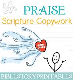 Cursive Scripture Copywork With Verses About Thankfulness