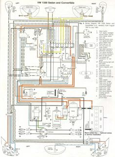 Electrical Wiring Diagrams |  Beetle 1971 Electrical