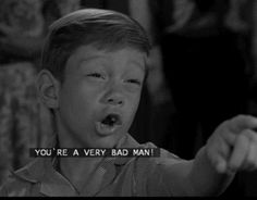 Image result for billy mUmy twilight zone you're a bad man animated gif
