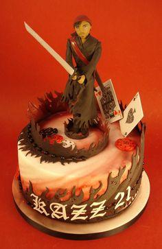 Cool Anime Cakes On Pinterest Anime Cake Black Butler