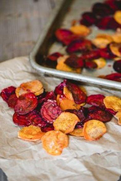 Resultado de imagem para chips sweet potato mandioc beetroot
