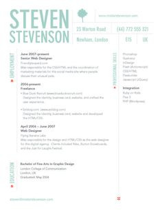 resume designs on pinterest resume design resume layout and