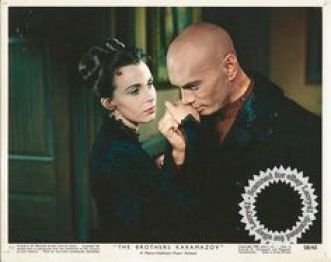 Image result for claire bloom and yul brynner the brothers karamazov