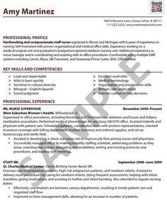 nursing resume rn resume and resume on pinterest