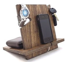 Wooden Iphone Android Docking Station Anniversary Gifts Http