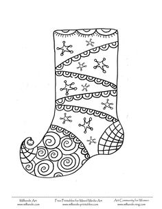 christmas stockings coloring pages and stockings on pinterest