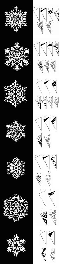 diy paper snowflakes templates diy projects usefuldiy com follow us