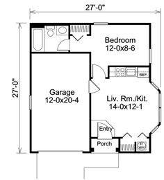 One Level Garage Apartment Plans ~ Nice Apartement