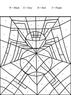 spider webs spider and halloween worksheets on pinterest