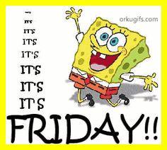 Its The Weekeeeeeend Baby Friday On Pinterest Happy Friday Tgif And Weekend Quotes