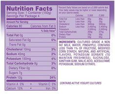 Dannon Light And Fit Greek Yogurt Nutrition Facts Raspberry Www