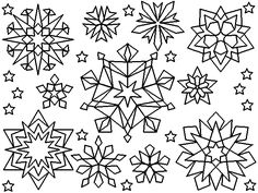 snowflakes coloring pages and coloring on pinterest