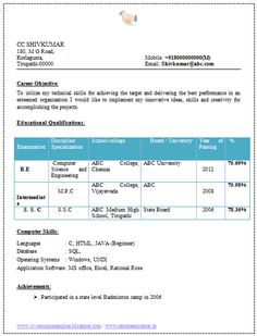 1000 images about best software engineer resume templates