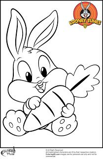 bugs bunny coloring pages and coloring on pinterest