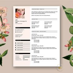 templates resume and cv resume template on pinterest