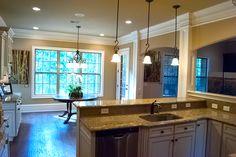 The Wakefield Kitchen With Island Timberlake Tahoe Maple