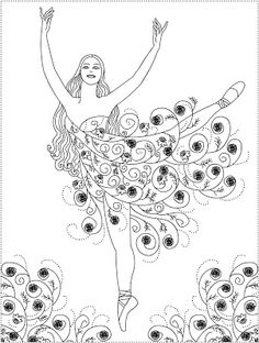 1000 images about coloring pages on pinterest ballerina