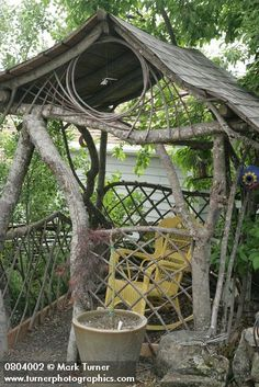 1000 Images About Tree Branch Forts On Pinterest Gazebo Branches And Rustic Arbor