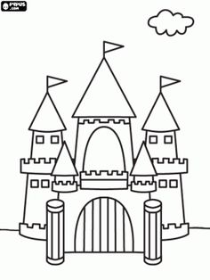 medieval castle how to draw and castles on pinterest