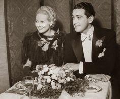 Thelma Todd and husband Pat DiCicco | Weddings | Pinterest