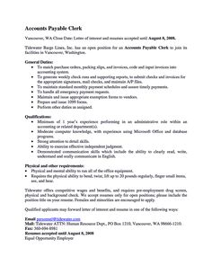 resume summary and to get on pinterest