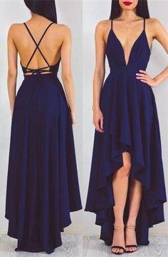 Backless prom dress,