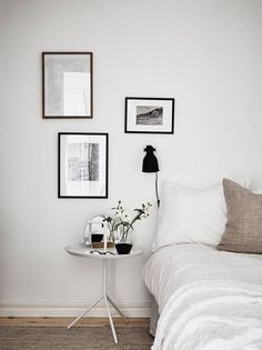 White home with warm