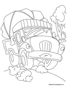 tricycle coloring pages and coloring pages for kids on pinterest