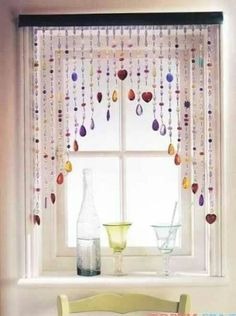 1000 Images About Bead Curtains On Pinterest Beaded