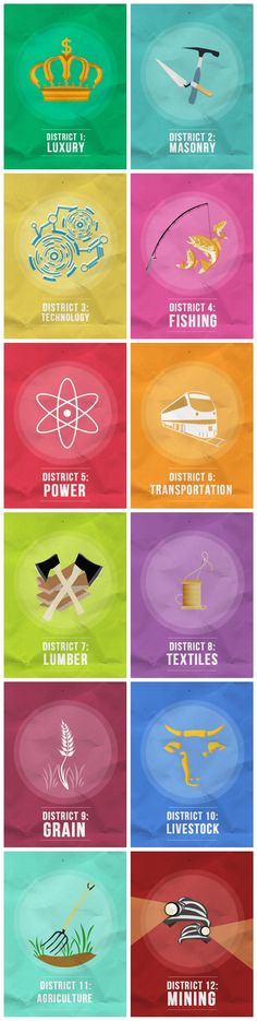 Hunger Games District 1 13 Symbols
