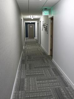Interface Modern Carpet Tile In A Commercial Building