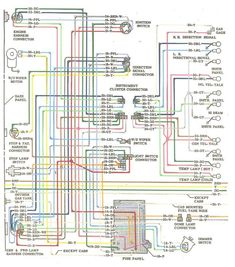ELECTRIC: L6 Engine Wiring Diagram   '60s Chevy C10  Wiring & Electric   Pinterest   Engine